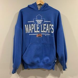Vtg 1992 Toronto Maple Leafs NHL Hoodie 🇨🇦